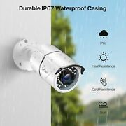 8ch Cctv Surveillance 8 X 5mp Camera With For Indoor And Outdoor Use
