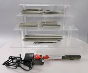 Bachmann N Scale Diesel, Model 6607 Transformer Straight /curved Track Sections