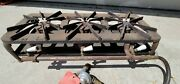 Vintage Kenmore Gas Hot Plate Camp Stove Cast Iron 3 Burners Rare
