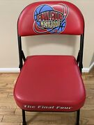 2001 Final Four Minneapolis Minnesota Game Used Sideline Bench Chair