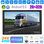 8 Android 9.0 2 Din 2usb Car Stereo Fm Radio Gps Mp5 Video Player Wifi 2+32gb