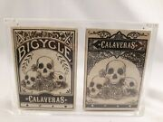 2013 Calaveras - Branded And Unbranded V1 Editions Playing Cards - Dead On Paper