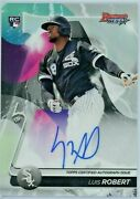 Luis Robert 2020 Bowmans Best Auto Rc Best Of 20 Refractor Chicago White Sox Sp
