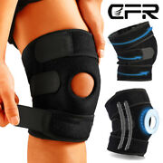 Knee Support Compression Open Patella Brace Joint Pain Relief Workout Sport Gym