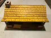 Marx 1/32nd Scale Bar-m-ranch House Tin Litho Building 1