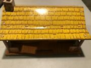 Marx 1/32nd Scale Bar-m-ranch House Tin Litho Building 2