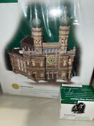 Department 56 Christmas In The City Central Synagogue And Teaching The Torah New