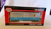 Ho Scale Model Power 40and039 Box Car Baltimore And Ohio Sentinel Blue 46008 Bnos