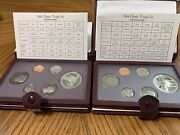 Us Mint Prestige Set Lot 838486-97 In Pristine Condition W/all The Papers