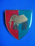 South Africa African E.p. Commd. Workshop Military Elephant Emblem Insignia