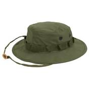 Mil-spec Military Og-107 Olive Drab Green Boonie Hat Cap 7 1/4 Made In Usa