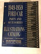 1949-1959 Ford Car Parts And Accessories - Illustrations Catalog 1964