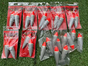 Job Lot Of Red Wolf Predator Tackle Pike Floats New 10g/12g Fishing Floats Pike