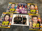 You Me At Six Signed Photo +mags
