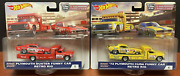 Hot Wheels Car Culture Team Transport Snake And Mongoose . 4 And 5