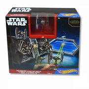 Hot Wheels Star Wars 'tie Fighter Blast-out Battle' Play Set Toy Brand New Gift