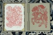 Xenograph James Jean Hardcover W/ Print Sold Out Oop Rare Very Limited 37/245