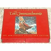 Vhs Cecil B. Demille's The Ten Commandments 35th Anniversary Collector's Edition