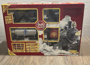 New In Box Lgb G Scale Santa Fe Freight Train Starter Set 72423 Engine Track