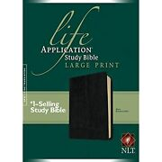 Nlt Life Application Study Bible, Second Edition, Large Print Red Letter,