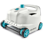 Intex 700 Gal Per Hour Above Ground Pool Cleaner Robot Vacuum W/ 21 Ft Hose