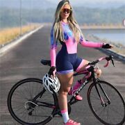 Triathlon Suit Womenand039s Cycling Skinsuit Racing Sport Bike Set Cycling Clothing