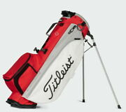Titleist 2021 Players 4 Plus Stand Bag Tb21sx1k Menand039s Golf 4way 4.4lbs Red/white