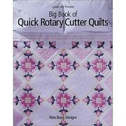 Big Book Of Quick Rotary Cutter Quilts [paperback] Bono Pam Pam Bono Designs