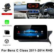For Mercedes Benz C Class W204 2011-2014 Rhd 12.3 Car Gps Stereo Player Units
