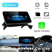 12.3 Android Car Gps Auto Radio For Mercedes Benz C Class W204 2011-2014 Rhd