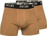 281z Military Underwear Cotton 4-inch Boxer Briefs - Tactical Hiking Outdoor - P