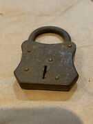 Vintage Steampunk Antique Yale Junior Lock Usa By Yale And Towne Manufacturing