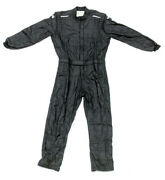 Impact Racing Black Large The Racer 1 Piece Driving Suit P/n 24215510
