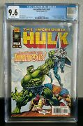 Incredible Hulk 449 Cgc 9.6 1st Thunderbolts Marvel 1997 New Slab White Pages