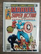 Marvel Super Action 1-12 1970s Comic Books, Cmpl Set, Vg Bagged And Boarded