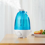 4l Cool Mist Humidifier Quiet Ultrasonic Adjustable 360° Rotating Home Diffuser