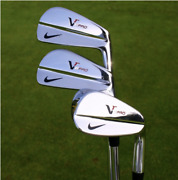 Lefty - Nike Vr Pro Combo Iron Set 3-pw / Hard-to-find/ Stiff / Lh / New Grips