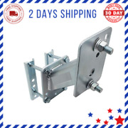 Economy Spare Tire Carrier Reinforced Zinc-plated Steel Construction 4.5 Bolt