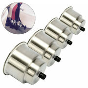 4x Stainless Steel Cup Drink Holder For Marine Boat Yacht Truck Rv Car Camper