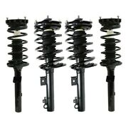 Shock Absorber And Strut Assemblies Set Of 4 Front And Rear Left-and-right Sedan