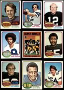 1976 Topps Football Almost Complete Set 6.5 - Ex/mt+