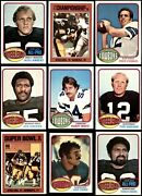 1976 Topps Football Almost Complete Set 5.5 - Ex+