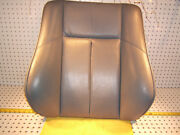 Mercedes Early W202 Sport Front L Or R Seat Leather Gray Back Genuine Oe 1 Cover