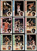 1978-79 Topps Basketball Complete Set 6 - Ex/mt