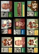 1962 Topps Cleveland Browns Team Set W/o Jim Brown Browns-fb 5 - Ex