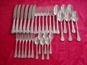 Wmf 3200 Baroque 6 People Table Cutlery 30 Pieces 90 Silver Plated