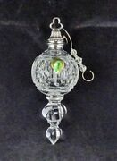 Waterford Fancy Large Crystal Ball Xmas Christmas Tree Ornament