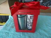 Let's Merry 2011 Starbucks Holiday Red Fox Coffee Travel Tumbler And Warrior Golf
