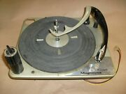 Vintage Magnavox Micromatic Turntable From Astro Sonic Stereo Console