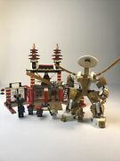 Lego Ninjago 70505 Temple Of Light With Minifigures, No Instructions Or Box